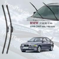Silecek Seti BMW 3 Seri E46 1998-2005 MUZ C6048