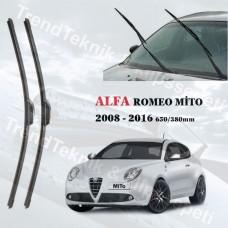 Silecek Seti ALFA ROMEO MITO 2008 - 2016 RBW MUZ  HS002