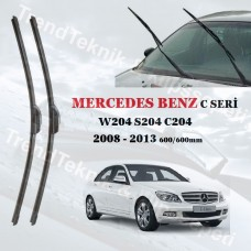 Silecek Seti MERCEDES C Seri W204 S204 C204 2008 - 2013 inwells MUZ  HS016