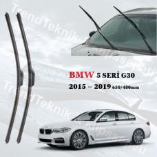 Silecek Seti BMW 5 Seri G30 2015 - 2019 inwells MUZ  HS028