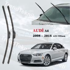 Silecek Seti Audi A4 2008 - 2018 inwells MUZ  HS037