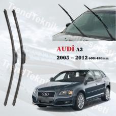 Silecek Seti Audi A3 2005 - 2012 inwells MUZ  HS043