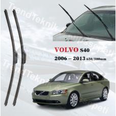 Silecek Seti VOLVO S40  2006 - 2013 inwells MUZ  HS045