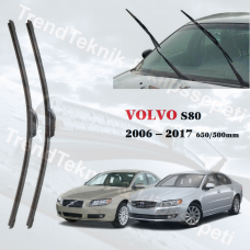 Silecek Seti VOLVO S80 2006 - 2017 inwells MUZ  HS045