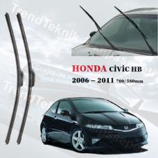 HONDA CIVIC HB  2006 - 2011 INWELLS ON CAM MUZ SILECEK TAKIMI HS046