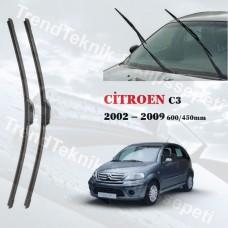 CITROEN C3 2002 - 2009  INWELLS ON CAM HYBRID SILECEK TAKIMI HS048