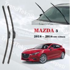 Silecek Seti MAZDA 3 2014 - 2016  inwells Hybrid HS048
