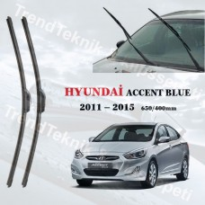 Silecek Seti Hyundai ACCENT BLUE  2011 - 2015   inwells Hybrid  HS049