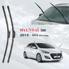 Silecek Seti Hyundai I30 2012 - 2016 inwells Hybrid  HS050