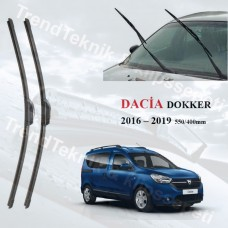 DACIA DOKKER 2016 - 2019 RBW ON CAM MUZ SILECEK TAKIMI HS054