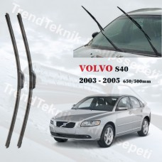 Silecek Seti VOLVO S40 2003 - 2005 RBW PRO MUZ  HS062
