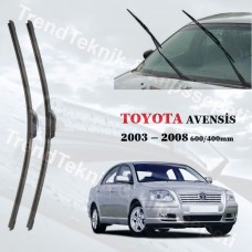 Silecek Seti TOYOTA Avensis 2003 - 2008 RBW Hybrid  HS066