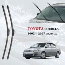 Silecek Seti TOYOTA COROLLA 2002 - 2007 RBW Hybrid  HS066