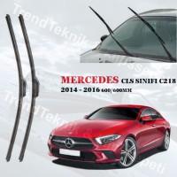MERCEDES CLS SINIFI C218 2014 - 2016 ÖN CAM RBW PRO MUZ SİLECEK TAKIMI HS075