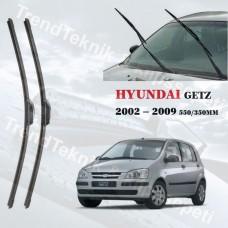 Silecek Seti Hyundai GETZ 2002 -2009 RBW MUZ  HS082