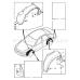 MAZDA 2 3 5 6 CX S40 V40  TAMPON KLIPS B092-51-833 30870295